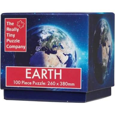 EARTH - The Really Tiny Puzzle Company 100 piece puzzle cube