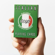 Load image into Gallery viewer, ITALIAN - Lingo playing cards