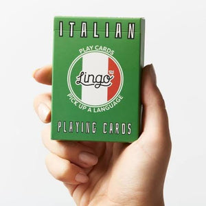 ITALIAN - Lingo playing cards