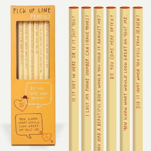 PICK UP LINE PENCILS - Pencil set
