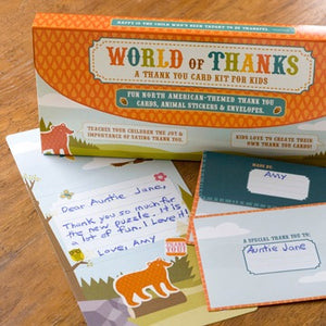 WORLD OF THANKS - North American Habitat Kids Kit