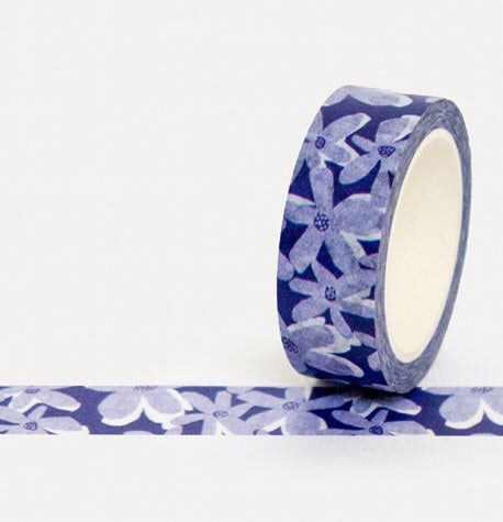 BLUE BLOOM - Washi Tape