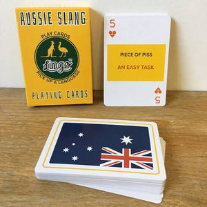 AUSSIE SLANG - Lingo playing cards