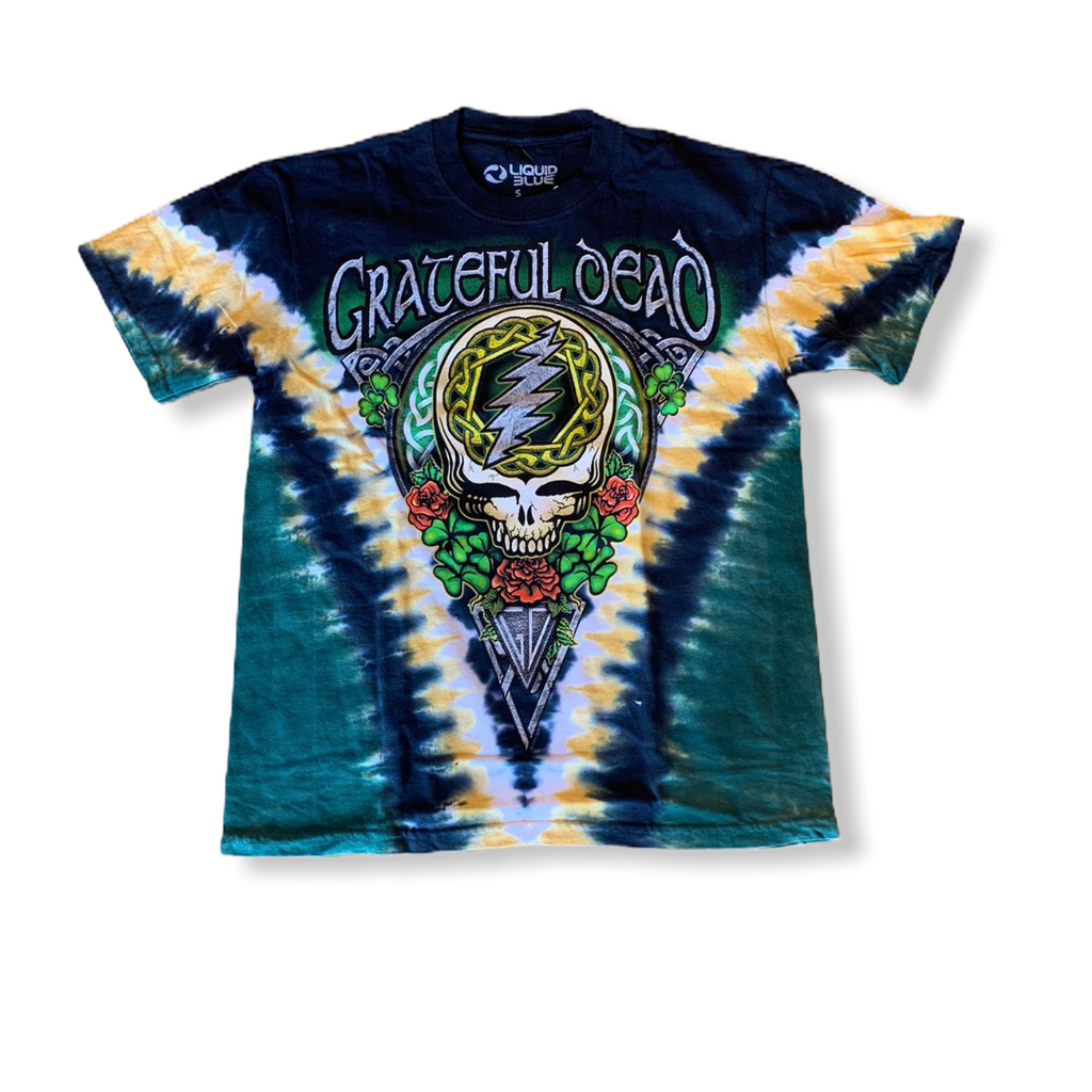 LIQUID BLUE: Grateful Dead Shamrock 11309 - On Time Fashions Tuscaloosa