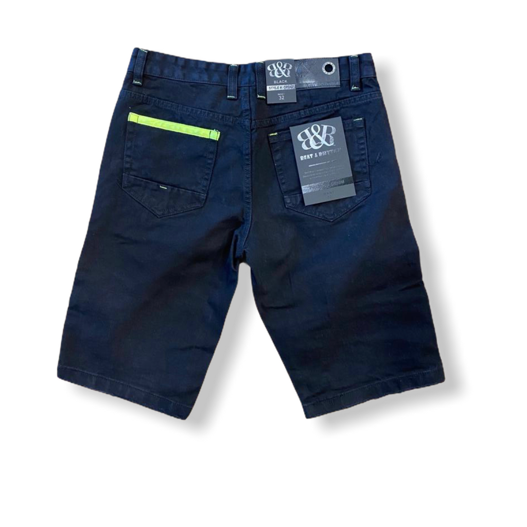 BEAT & RHYTHM: Moto Denim Short DP247X - On Time Fashions Tuscaloosa