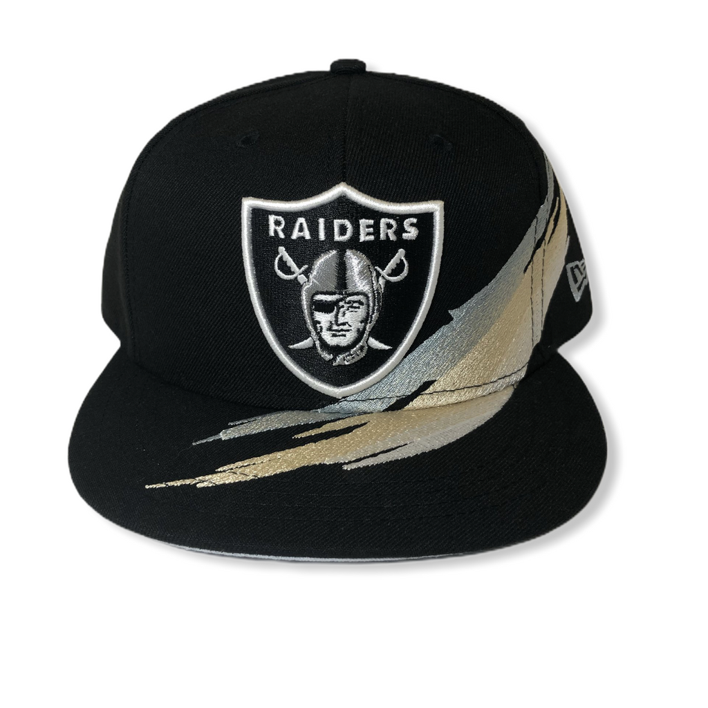 Las Vegas Raiders Brush Snapback 80830955 - On Time Fashions Tuscaloosa