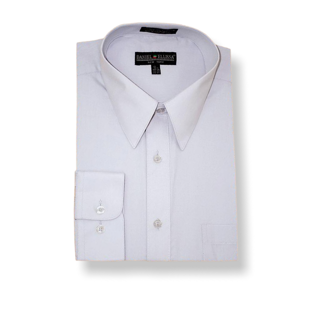 DE White Dress Shirt - On Time Fashions Tuscaloosa