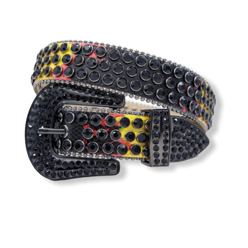 DNA PREMIUM: Black/Yellow/Fiery Red Snake #167 - On Time Fashions Tuscaloosa