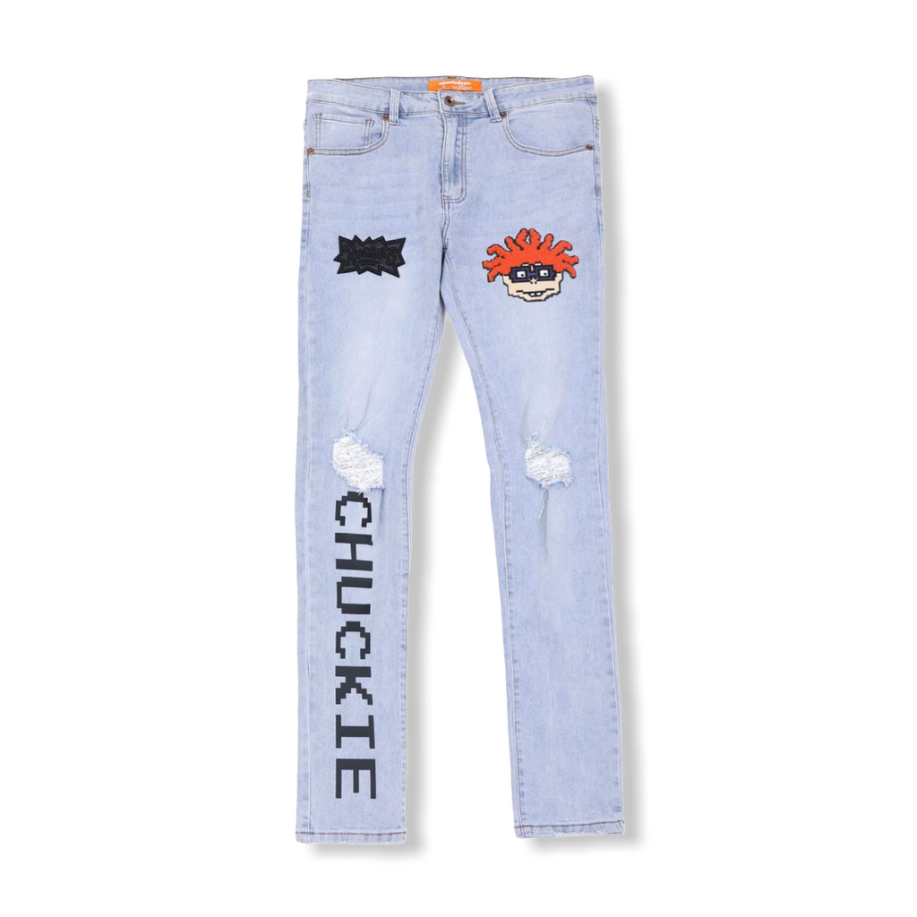 FREEZE MAX: Sequins Chuckie Jeans NK40116 - On Time Fashions Tuscaloosa