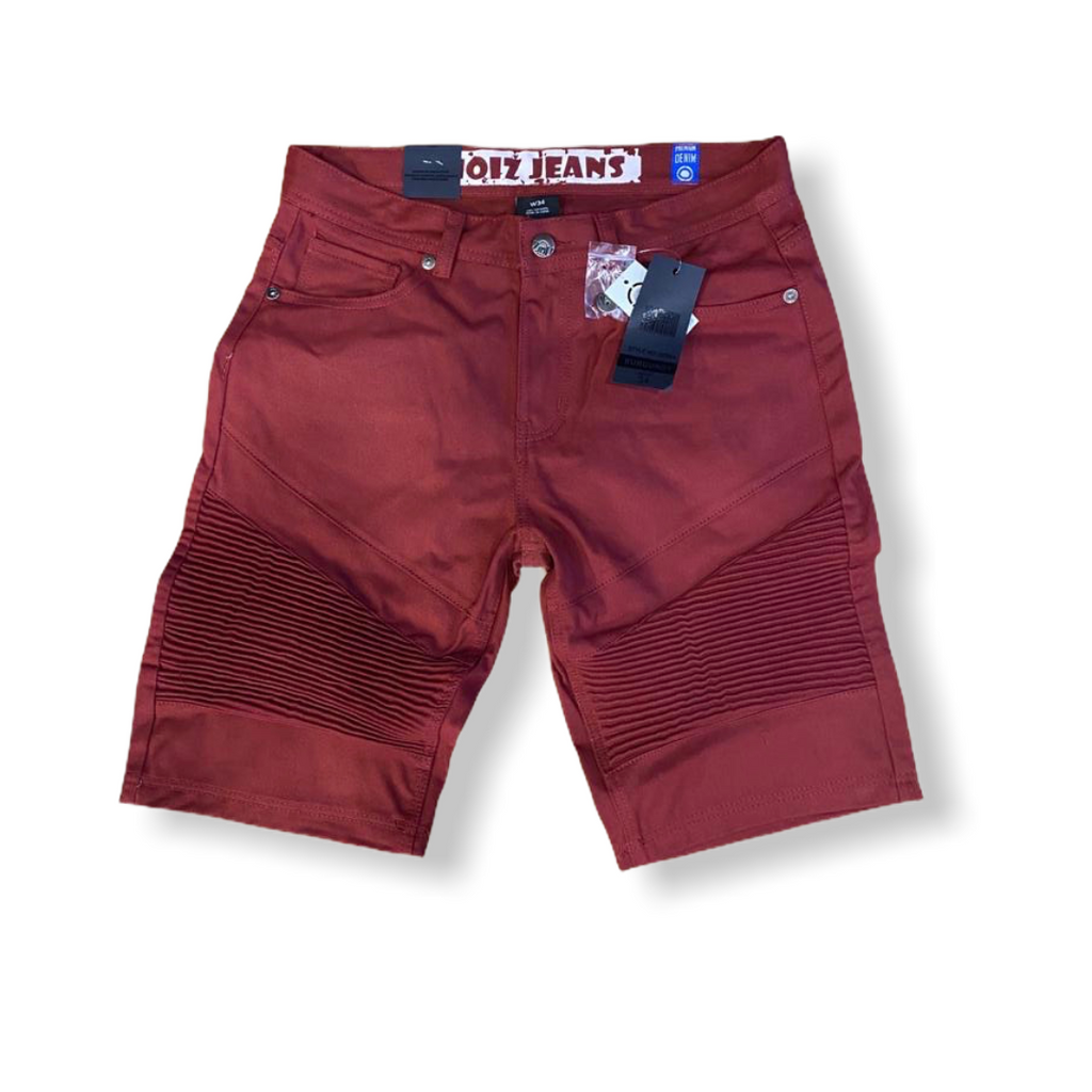 BEAT & RHYTHM: Moto Denim Short DP244 - On Time Fashions Tuscaloosa