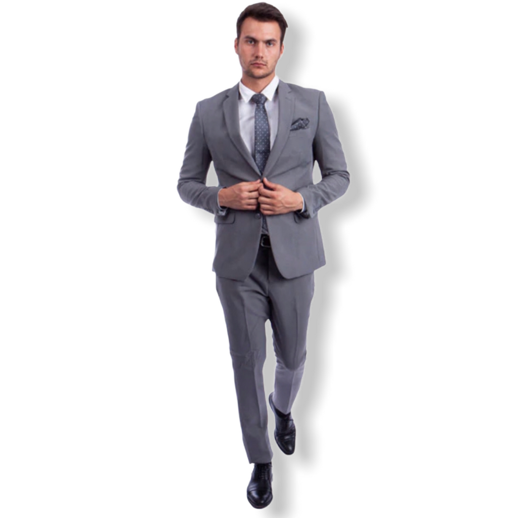 AZZURO: 2pc. Slim Fit Suit M276S - On Time Fashions Tuscaloosa
