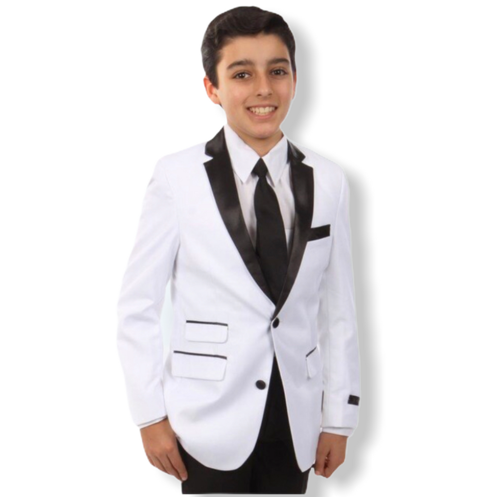 Boys Tazio 4pc. Tux B369S - On Time Fashions Tuscaloosa