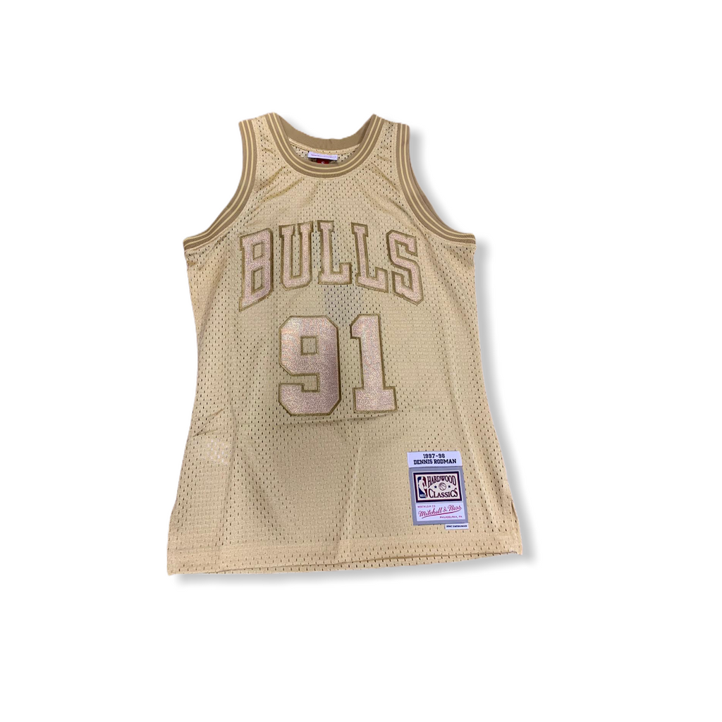 MITCHELL & NESS: Midas Swingman Jersey Rodman - On Time Fashions Tuscaloosa