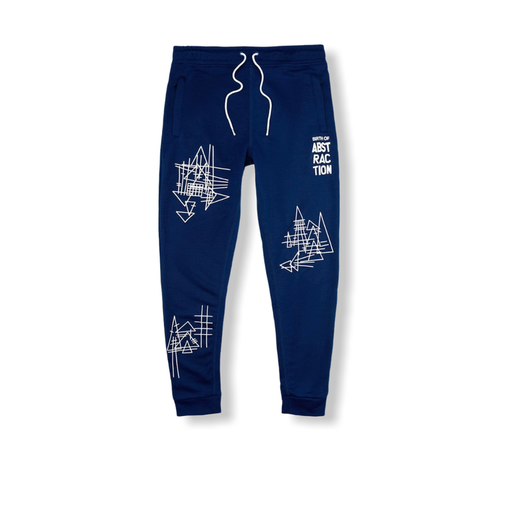 TANGO HOTEL: Abstraction Kandinsky Sweatpant THB1419KB - On Time Fashions Tuscaloosa
