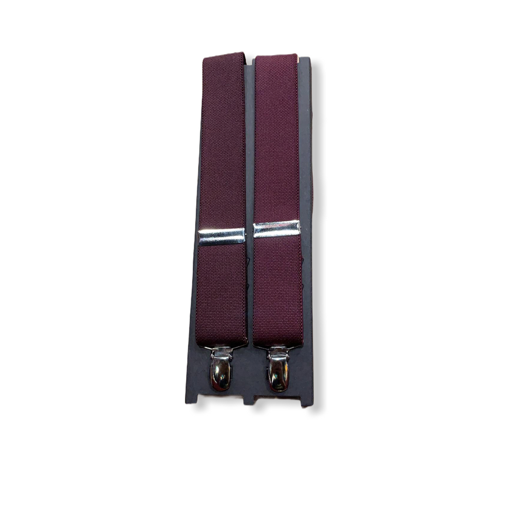 Clip Suspenders - On Time Fashions Tuscaloosa