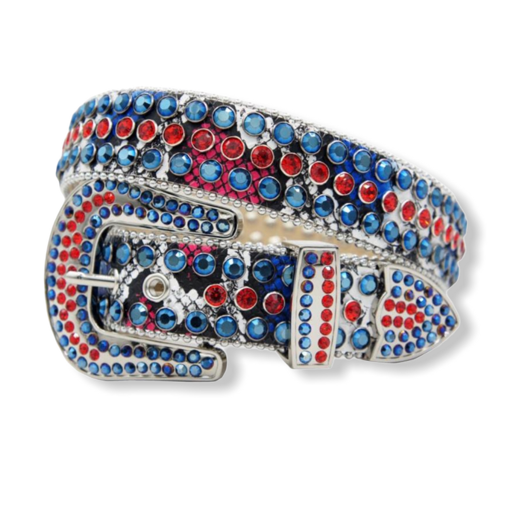 DNA PREMIUM: Blue/Red Snake  #177 - On Time Fashions Tuscaloosa