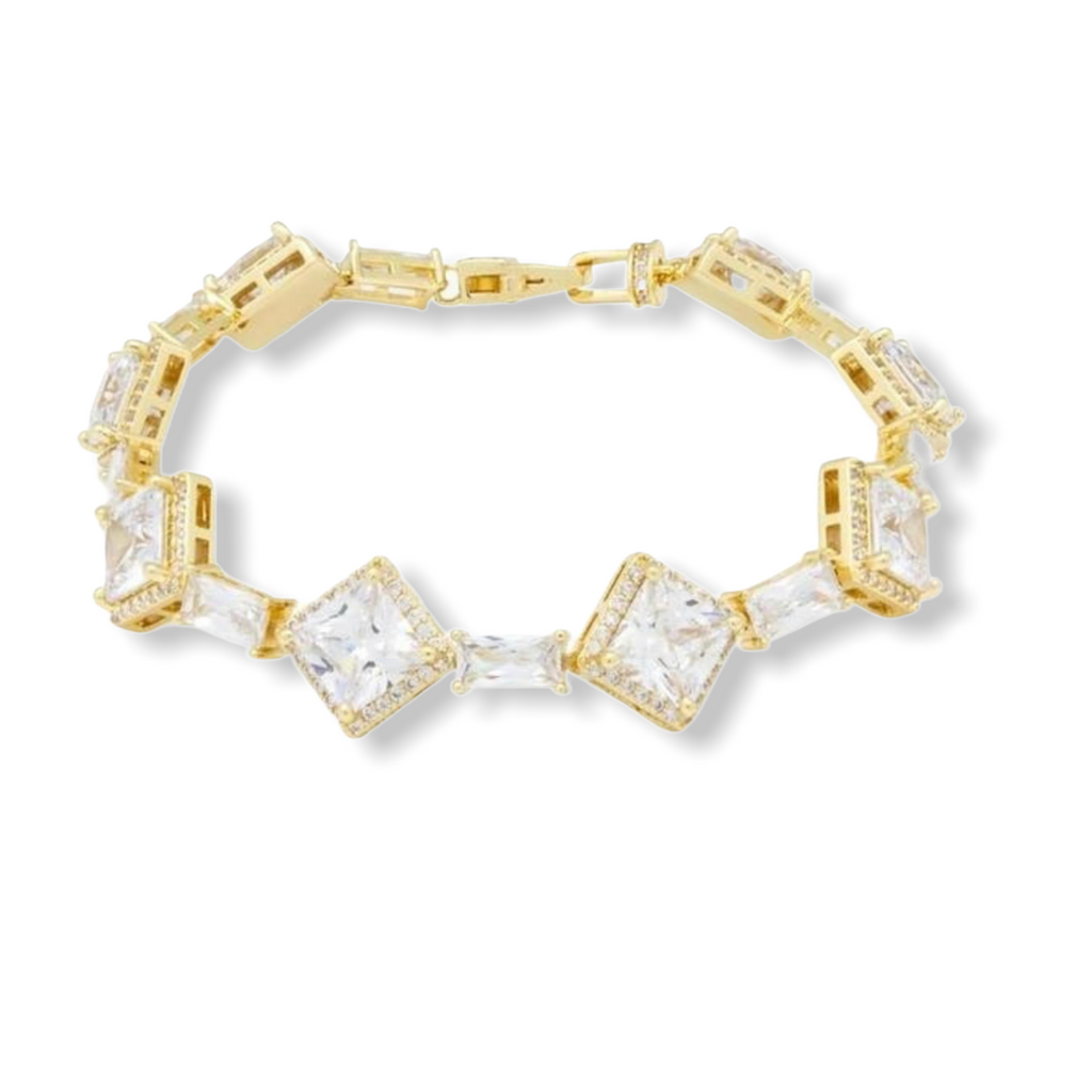KING ICE: The Baguette Bracelet - On Time Fashions Tuscaloosa