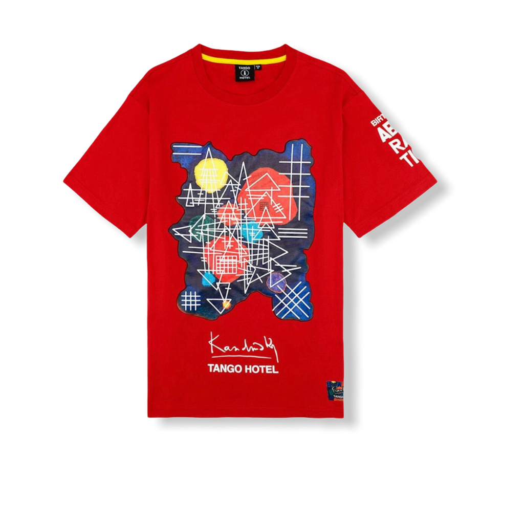 TANGO HOTEL: Kandinsky Abstraction Tee THB1420TE - On Time Fashions Tuscaloosa