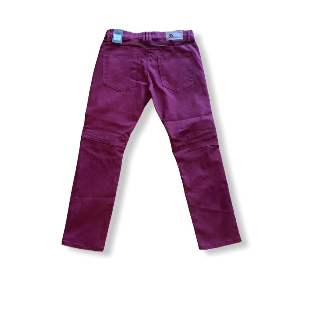 ARGONAUT NATION: Biker/Zipper Twill Pants ARG-2015A - On Time Fashions Tuscaloosa