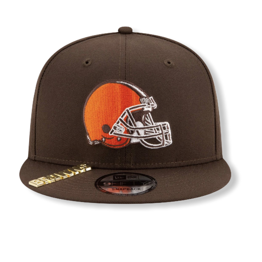 Cleveland Browns Metal Duel Snapback 80781948 - On Time Fashions Tuscaloosa