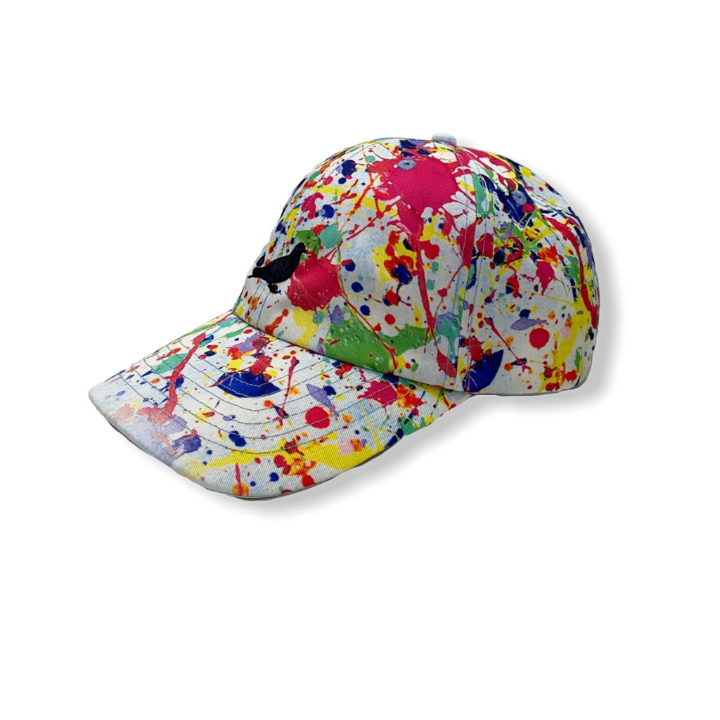 STAPLE: Splatter Dad Hat 2008X6108 - On Time Fashions Tuscaloosa