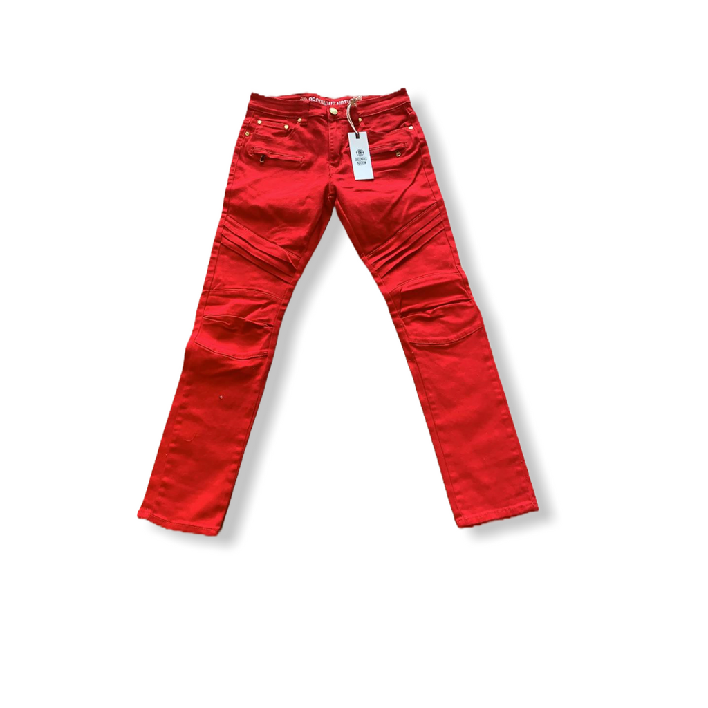 ARGONAUT NATION: Twill Moto Jeans ARG-P9010 - On Time Fashions Tuscaloosa