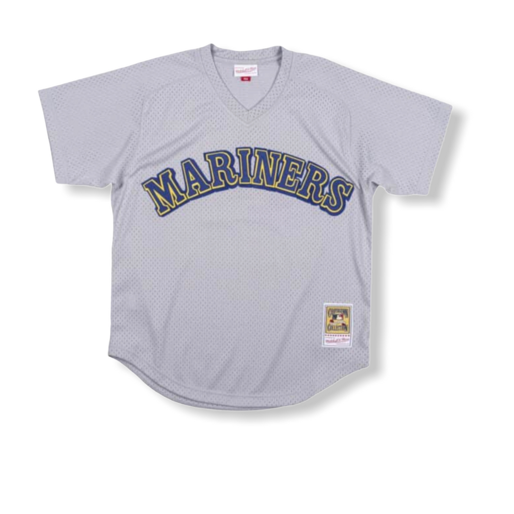 Mitchell & Ness: Authentic Pullover Seattle Mariners Edgar Martinez - On Time Fashions Tuscaloosa
