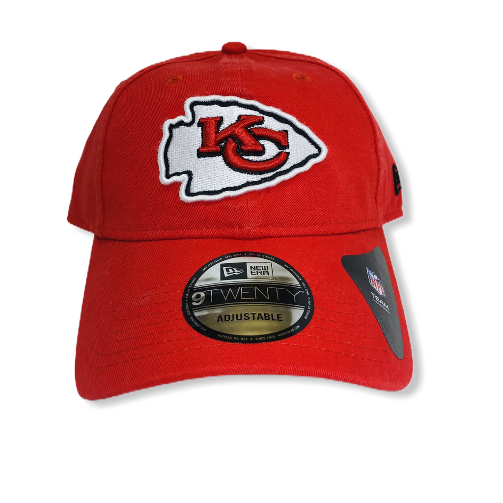 Kansas City Chiefs New Era Core Classic 9TWENTY Adjustable Hat - On Time Fashions Tuscaloosa