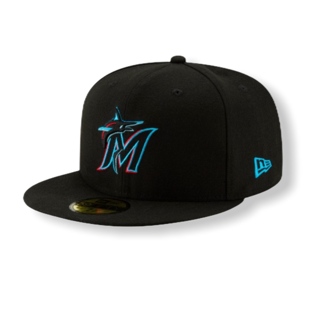 Miami Marlins Basic Fitted 70456861 - On Time Fashions Tuscaloosa