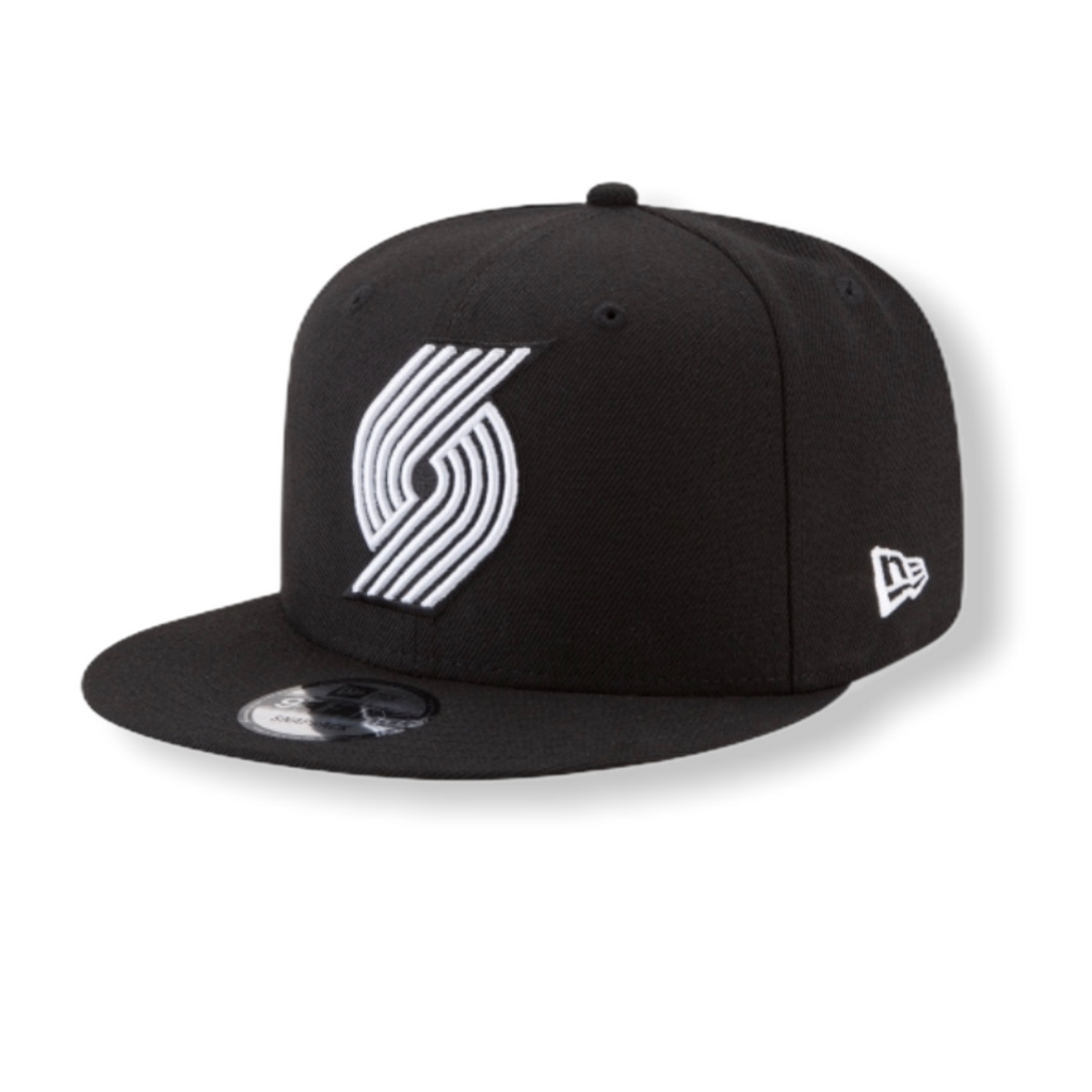 Portland Trailblazers Basic Black Snapback 70387701 - On Time Fashions Tuscaloosa