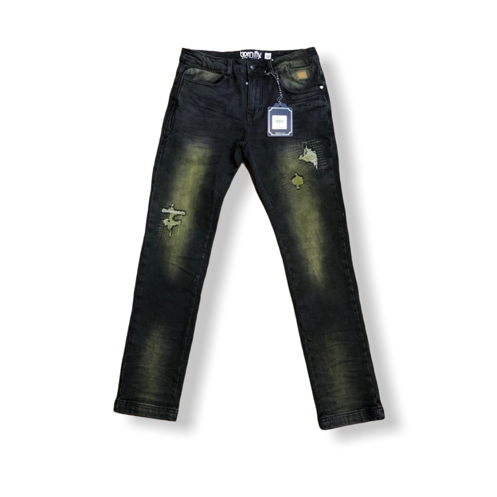 BORN FLY: Cash Dollar Denim Jean 2010D3868 - On Time Fashions Tuscaloosa