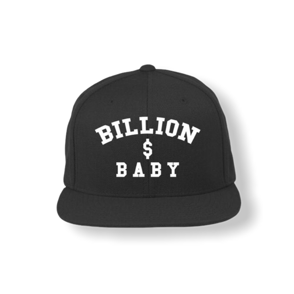 BILLION $ BABY: Logo Hat - On Time Fashions Tuscaloosa