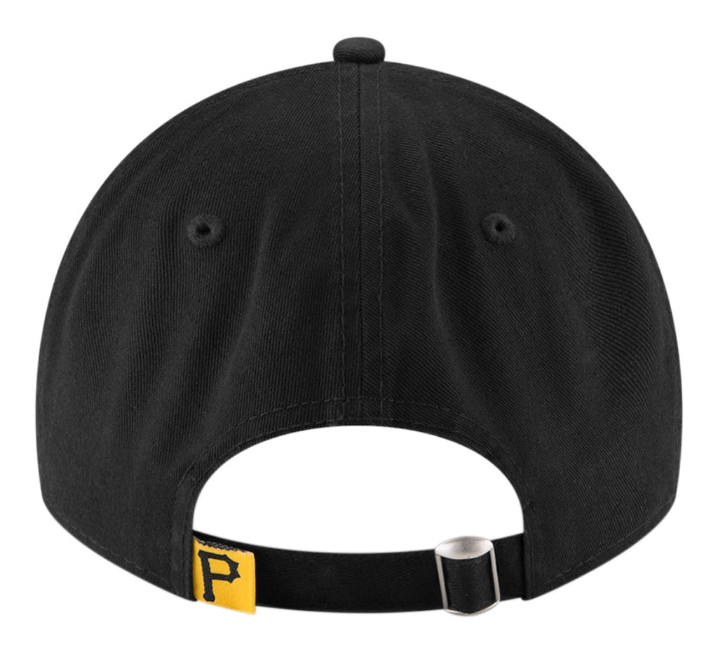 Pittsburgh Pirates New Era Game Replica Core Classic 9TWENTY Adjustable Hat - Black - On Time Fashions Tuscaloosa