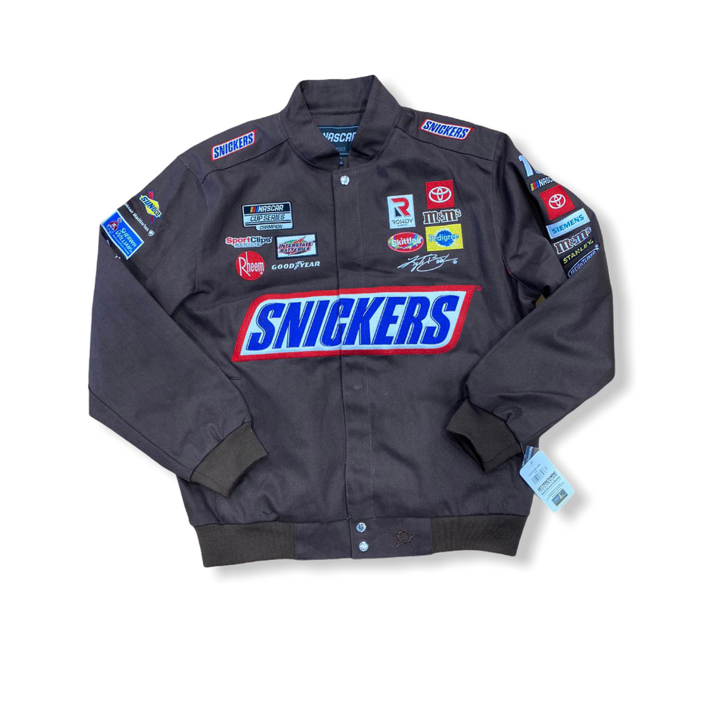 NASCAR: Kyle Busch Snickers Jacket - On Time Fashions Tuscaloosa