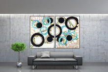 Load image into Gallery viewer, Original Contemporary Painting - Collaborate - set of two