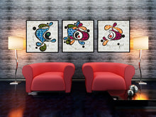 Load image into Gallery viewer, Original Contemporary Art - Diversity - set of three