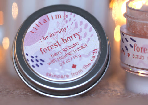 Forest Berry lip balm - TiliaLime