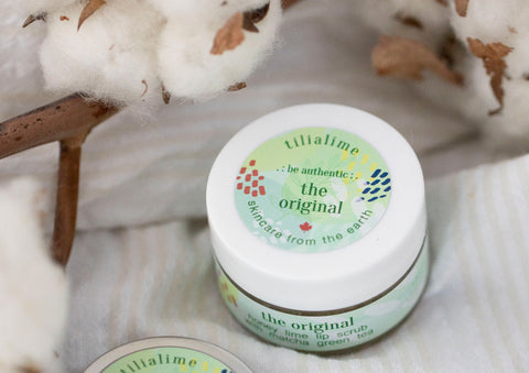 The Original lip scrub - TiliaLime