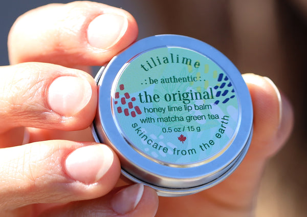 The Original lip balm - TiliaLime