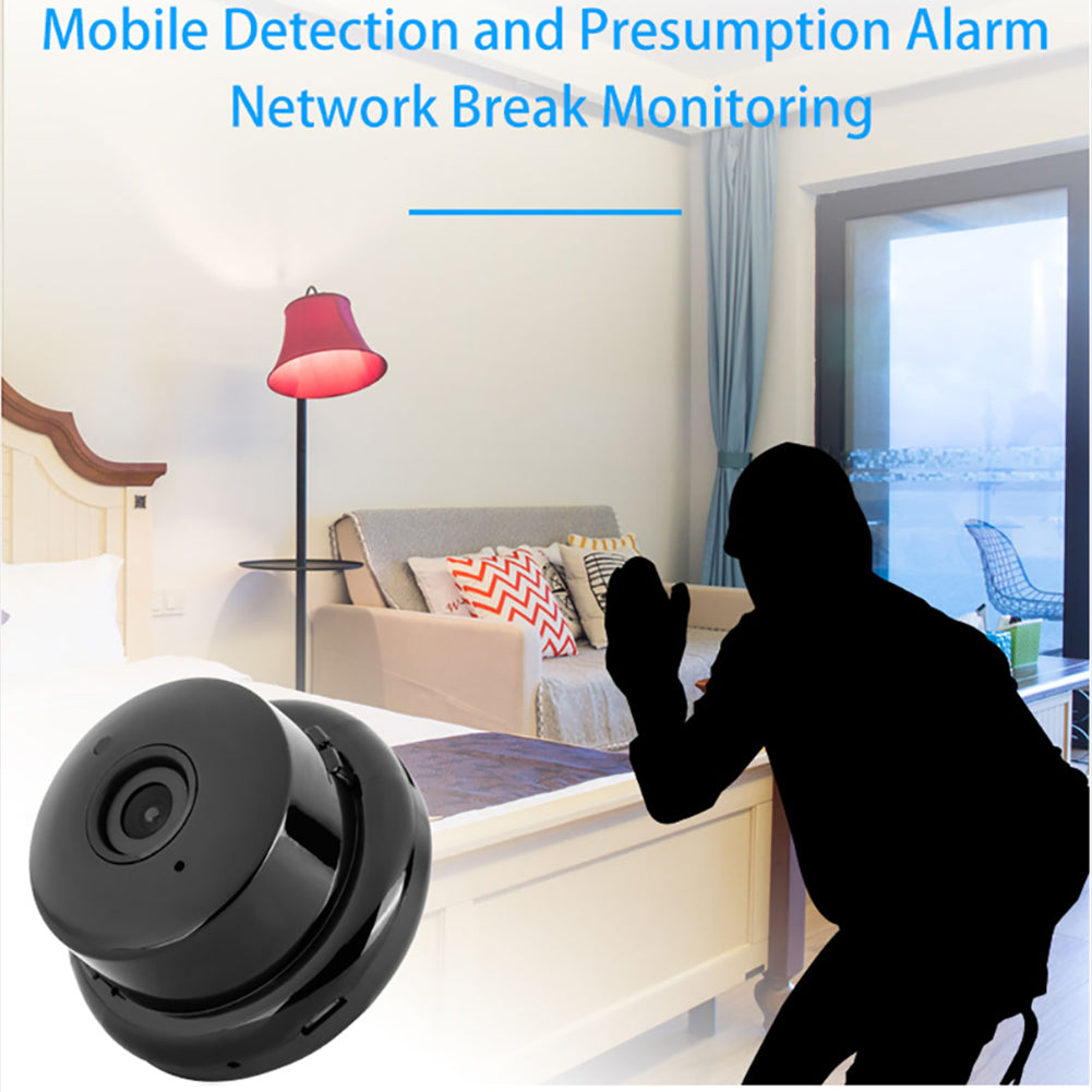 V380 Mini Wifi Camera 1080p IP Camera Wireless CCTV Infrared Night Vision Motion Detection 2-Way Audio Home Security Camcorders - gadgetsandbeyond.net