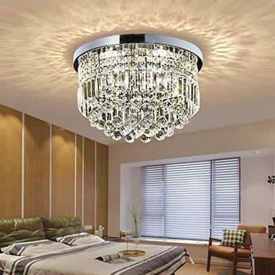 "Saint Mossi 20"" Wide Chrome Crystal Chandelier Lighting"