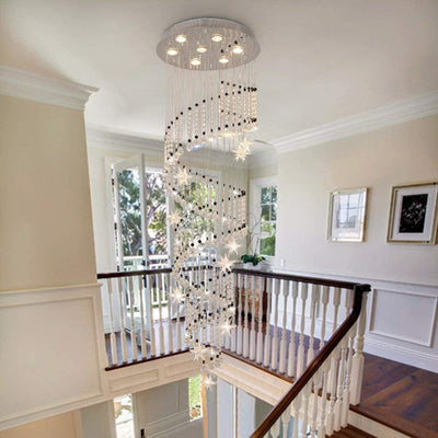 "Saint Mossi 20"" Raindrop Crystal Chandelier"