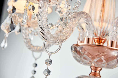 "Saint Mossi 25"" Crystal 5-Light Chandelier"