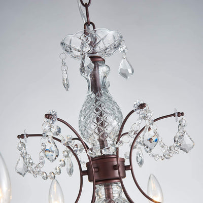 "Saint Mossi 26"" Crystal 6-Light Chandelier"