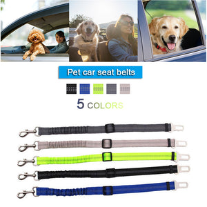 Car Pets and Dog Safety Belt Harness