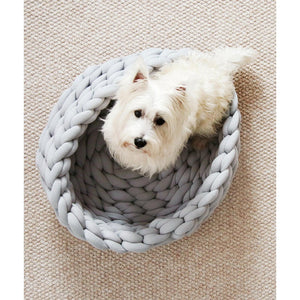 Braided Dog and Cat Bed