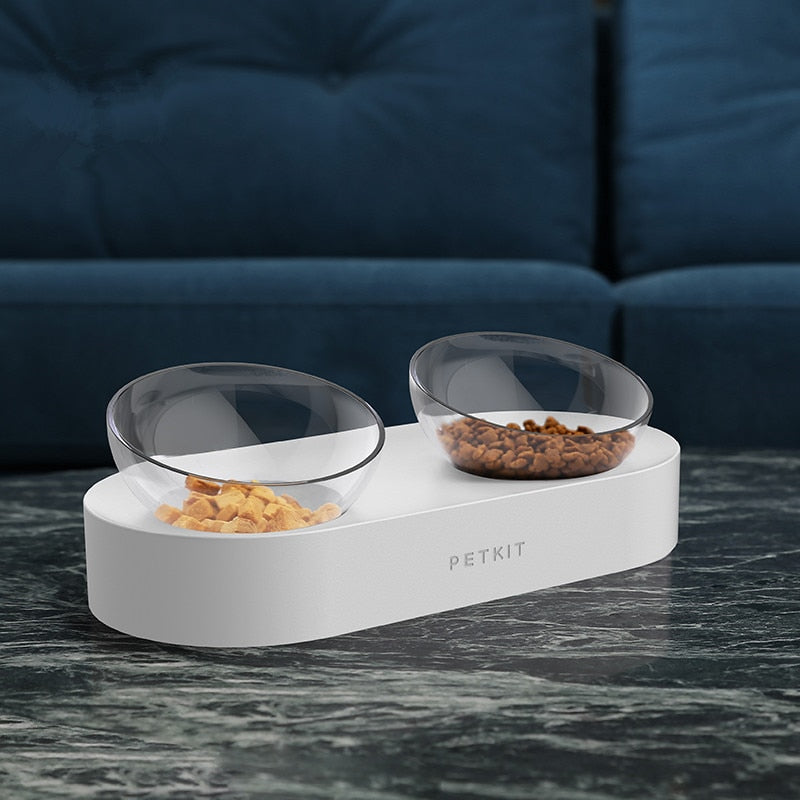 Adjustable PETKIT Pet Double Feeder Bowls/ Cat Drinking Bowls From Xiaomi Youpin