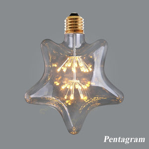 Retro Style Starry Sky Dimmable led Bulb