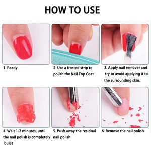 VINIMAY UV LED Gel Nail Polish Burst Magic Remover Liquid