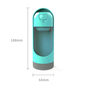 Filtered Dog Water Dispenser, BPA Free